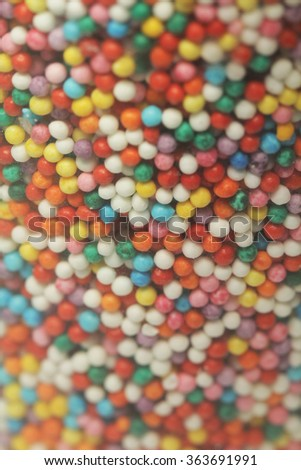 Candy background - stock photo
