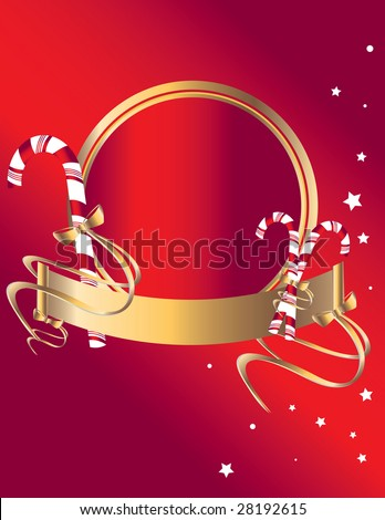 Candy cane background 1 - jpg version - stock photo