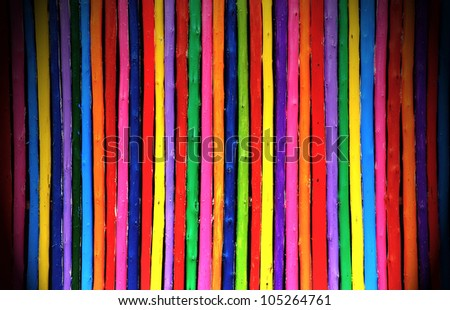 Candy color wooden wall background