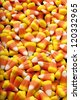 Candy corn a favorite holiday treat. - stock photo