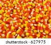 Candy corn, a Halloween tradition - stock photo