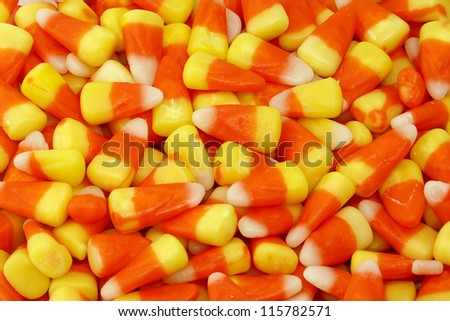 Candy corn candy - stock photo