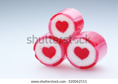 Candy Hearts, valentines day background