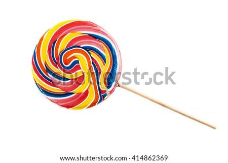 Candy isolated on white background - stock photo
