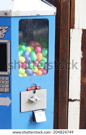 Candy machine - stock photo