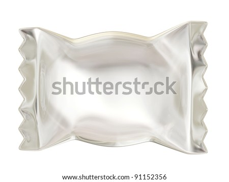 candy pack for new design isolated on white.