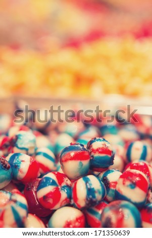 Candy shop - stock photo