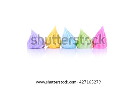 candy Thailand Aalaw colorful on white background