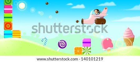 Candy World - stock photo