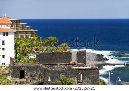 Canico de Baixo Resort, Madeira, Portugal, Europe - stock photo