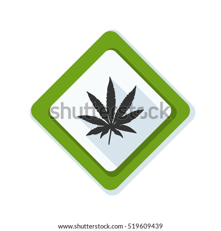 Cannabis danger sign