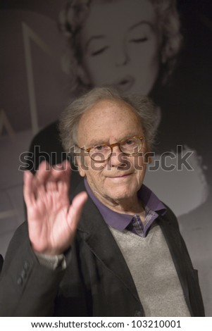 CANNES, FRANCE - MAY 20: Actor Jean-Louis Trintignant attends the 'Amour' Photocall during the 65th Annual Cannes Film Festival at Palais des Festivals on May 20, 2012 in Cannes, France.