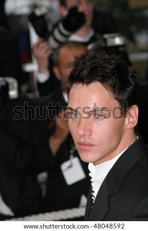 CANNES, FRANCE - MAY 12: Actor Jonathan Rhys Meyers attends the premiere of the film 'Match Point' at the Palais during the 58th International Cannes Film Festival May 12, 2005 in Cannes, France