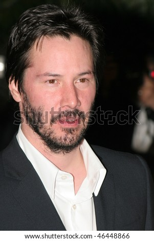 CANNES, FRANCE - MAY 25: Actor Keanu Reeves attends the 'A Scanner Darkly' premiere during the 59th International Cannes Film Festival May 25, 2006 in Cannes, France.