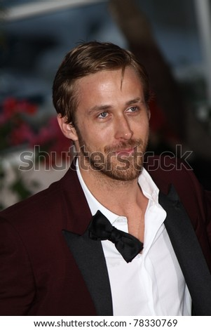 CANNES, FRANCE - MAY 22: Actor Ryan Gosling during the Palme D'Or Winners Photocall at the 64th Annual Cannes Film Festival at the Palais des Festivals on May 22, 2011 in Cannes, France - stock photo
