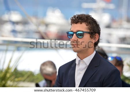 CANNES, FRANCE - MAY 15, 2016: Actor Shia LaBeouf  at the 69th Festival de Cannes.