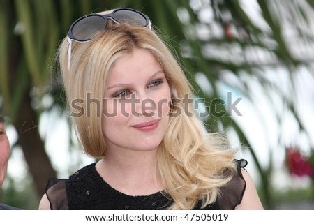 CANNES, FRANCE - MAY 23: Actress Laetitia Casta attends the 'Face' Photo Call at the Palais des Festivals during the 62nd Annual Cannes Film Festival on May 23, 2009 in Cannes, France - stock photo