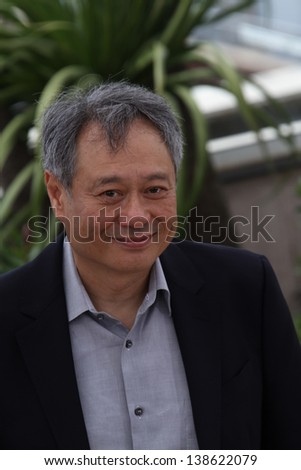 CANNES, FRANCE - MAY 15: Ang Lee attends the Jury Photocall during the 66th Annual Cannes Film Festival at the Palais des Festivals on May 15, 2013 in Cannes, France. - stock photo