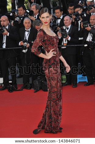 "CANNES, FRANCE - MAY 25, 2013: Bianca Balti at the gala premiere for ""Venus in Fur"" in competition at the 66th Festival de Cannes."