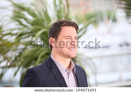 CANNES, FRANCE - MAY 19: Channing Tatum attends the 'Foxcatcher' photocall at the 67th Annual Cannes Film Festival on May 19, 2014 in Cannes, France.  - stock photo