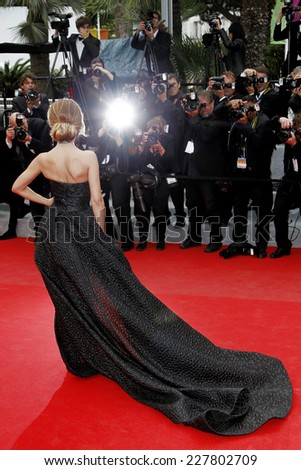 CANNES, FRANCE - MAY 19: Cheryl Cole attends the 'Foxcatcher' Premiere during the 67th Cannes Film Festival on May 19, 2014 in Cannes, France.  - stock photo
