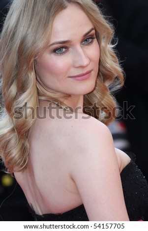 CANNES, FRANCE - MAY 23:  Diane Kruger attends the Palme d'Or Closing Ceremony held at the Palais  during the 63rd  Cannes Film Festival on May 23, 2010 in Cannes, France - stock photo