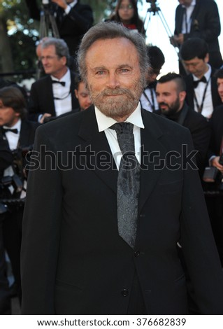 CANNES, FRANCE - MAY 24, 2014: Franco Nero at the gala awards ceremony at the 67th Festival de Cannes. - stock photo