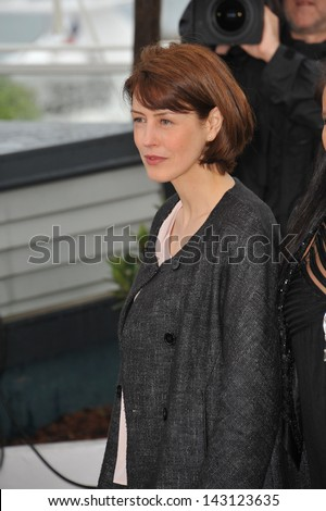 "CANNES, FRANCE - MAY 18, 2013: Gina McKee at the photocall for her movie ""Jimmy P. Psychotherapy of a Plains Indian"" in competition at the 66th Festival de Cannes."