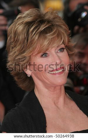 CANNES, FRANCE - MAY 26:  Jane Fonda attends the premiere for the film Promise Me This at the Palais des Festivals during the 60th International Cannes Film Festival May 26, 2007 in Cannes, France. - stock photo