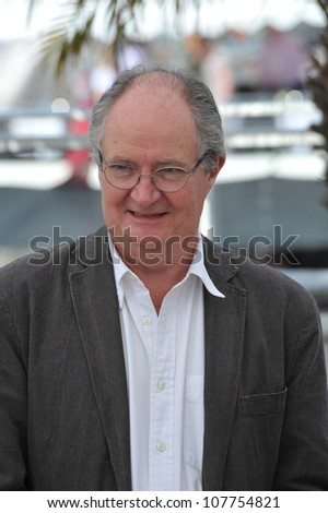 "CANNES, FRANCE - MAY 15, 2010: Jim Broadbent at the photocall for his movie ""Another Year"" in competition at the 63rd Festival de Cannes."