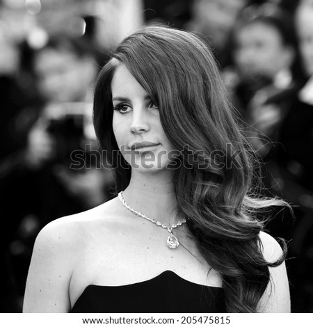 CANNES, FRANCE - MAY 16: Lana Del Rey attends the opening ceremony premiere during the 65th Cannes Film Festival on May 16, 2012 in Cannes, France - stock photo