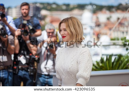 Cannes, France - 19 MAY 2016 - Lea Seydoux attends the 'It's Only The End Of The World (Juste La Fin Du Monde)' Photocall during the 69th annual Cannes Film Festival
