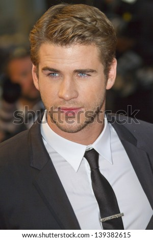 CANNES, FRANCE - MAY 18: Liam Hemsworth  attends the Premiere of 'Jimmy P. (Psychotherapy Of A Plains Indian)' at The 66th Annual Cannes Film Festival on May 18, 2013 in Cannes, France.