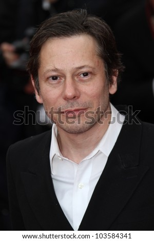 CANNES, FRANCE - MAY 21: Mathieu Amalric attends the 'Vous N'avez Encore Rien Vu' premiere during the 65th  Cannes  Festival at Palais des Festivals on May 21, 2012 in Cannes, France