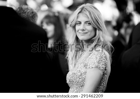 CANNES, FRANCE- MAY 17: Melanie Laurent attends the Premiere of 'Inside Out' during the 68th Cannes Film Festival on May 17, 2015 in Cannes, France. - stock photo