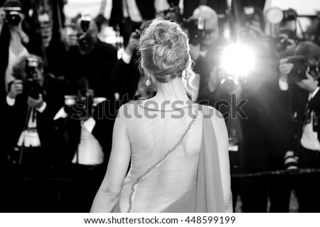 CANNES, FRANCE - MAY 15: Model Petra Nemcova attends the 'From The Land Of The Moon' premiere during the 69th Cannes Film Festival on May 15, 2016 in Cannes, France. - stock photo