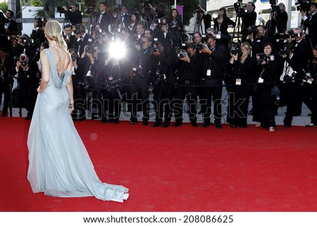 CANNES, FRANCE - MAY 16: Naomi Watts attends the 'Dragon 2' Premiere during the 67th Cannes Film Festival on May 16, 2014 in Cannes, France - stock photo