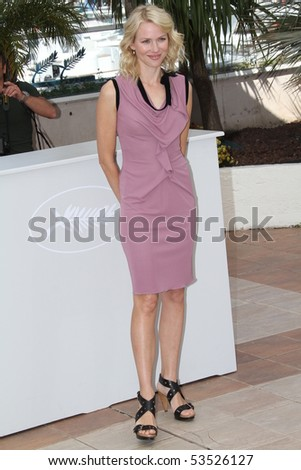 CANNES, FRANCE - MAY 20: Naomi Watts attends the 'Fair Game' Photo Call held at the Palais des Festivals during the 63rd  Cannes Film Festival on May 20, 2010 in Cannes, France - stock photo