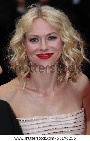 CANNES, FRANCE - MAY 15: Naomi Watts  attends the 'You Will Meet A Tall Dark Stranger' Premiere held at the Palais des Festivals during the 63rd Cannes  Festival on May 15, 2010 in Cannes, France - stock photo