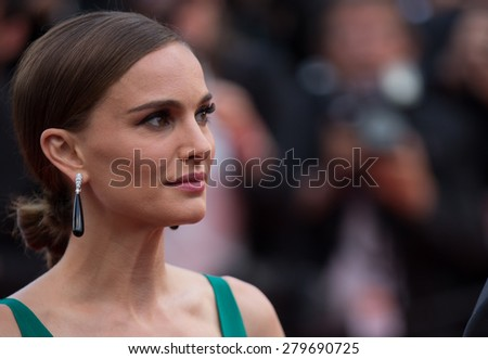 CANNES, FRANCE - MAY 19, 2015: Natalie Portman and guests attend the 'Sicario' Premiere during the 68th annual Cannes Film Festival on May 19, 2015 in Cannes, France. - stock photo