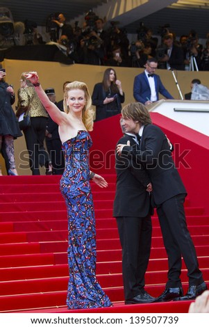 CANNES, FRANCE - MAY 19:  Nicole Kidman and Keith Urban attend 'Inside Llewyn Davis' Premiere during the 66th Cannes Film Festival at Palais des Festivals on May 19, 2013 in Cannes, France.