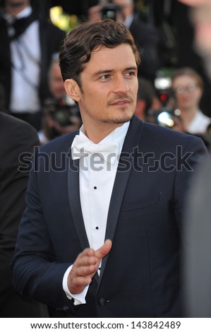 CANNES, FRANCE - MAY 26, 2013: Orlando Bloom at the closing awards gala of the 66th Festival de Cannes.