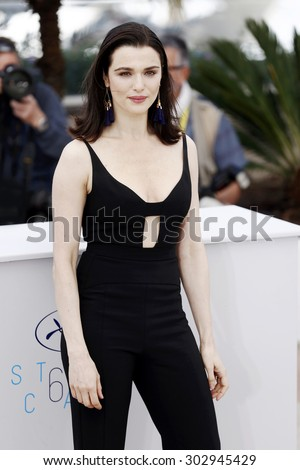 CANNES, FRANCE- MAY 15: Rachel Weisz attends the 'The Lobster' photo-call during the 68th Cannes Film Festival on May 15, 2015 in Cannes, France. - stock photo