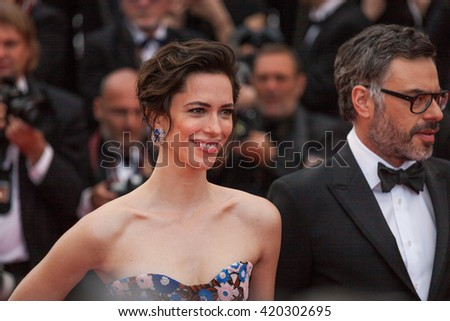Cannes, France - 14 MAY 2016 - Rebecca Hall attends the 'The BFG' Premiere during the annual 69th Cannes Film Festival at the Palais des Festivals - stock photo