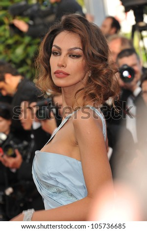 CANNES, FRANCE - MAY 19, 2012: Romanian supermodel Madalina Ghenea at the gala screening of Lawless, in competition at the 65th Festival de Cannes. May 19, 2012  Cannes, France