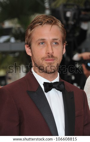 CANNES, FRANCE - MAY 22, 2011: Ryan Gosling at the 64th Festival de Cannes awards gala. May 22, 2011  Cannes, France - stock photo
