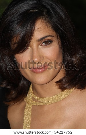 CANNES, FRANCE - MAY 23: Salma Hayek attends the Palme d'Or Award Ceremony Photo Call held at the Palais des Festivals during the 63rd  Cannes Film Festival on May 23, 2010 in Cannes, France - stock photo