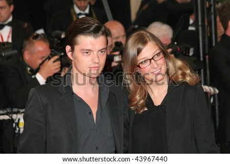 CANNES, FRANCE - MAY 16: Sam Riley and Alexandra Maria Lara attend the  A Christmas Tale premiere at The Palais during the 61st Cannes Film Festival on May 16, 2008 in Cannes, France.