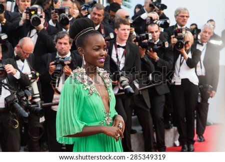 CANNES, FRANCE - MAY 13: Samir Hussein. Opening Ceremony 'La Tete Haute' Premiere. 68th Annual Cannes Film Festival at Palais des Festivals on May 13, 2015 in Cannes, France. - stock photo