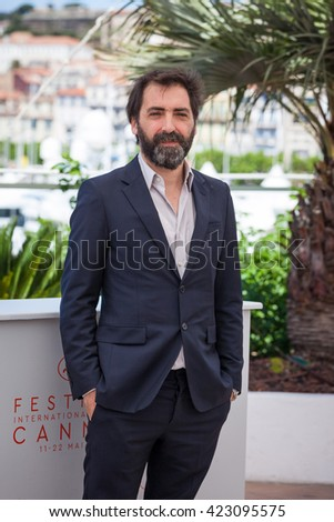 Cannes, France - 19 MAY 2016 - Stefano Mordini attends the 'Pericle Il Nero' Photocall at the annual 69th Cannes Film Festival at Palais des Festivals - stock photo